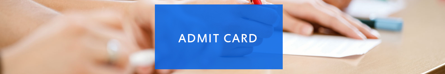 Admit card for METRE