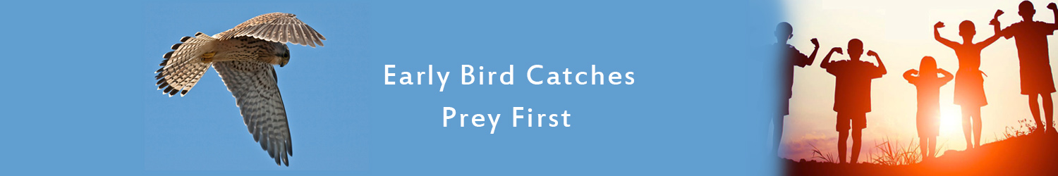 Early Bird Catches Prey First